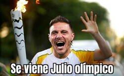 Enlace a ¡Es mes de olimpiadas, Hulio!