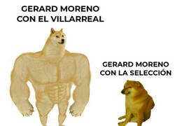 Enlace a Gastó todos sus goles con el Villarreal