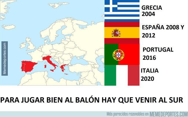 1139617 - Dominio absoluto de los países del sur de Europa