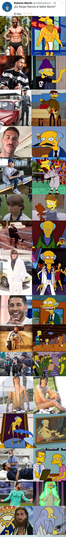 1140286 - El hilo de Twitter que demuestra que Sergio Ramos podría ser el Sr. Burns
