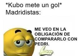 Enlace a ¿Ya es Kubo mejor que Pedri? Obviamente...