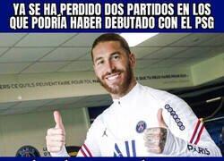 Enlace a La lesión de Ramos sigue dejándole fuera