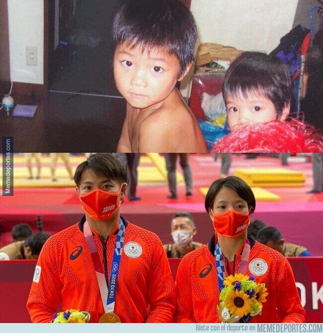 1140641 - Hermanos, judokas, y oro olímpico para ambos el mismo día