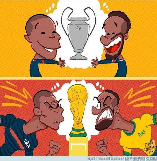 1140992 - Mbappé y Neymar, sueños comunes y sueños adversos
