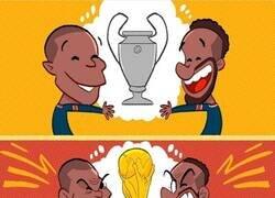 Enlace a Mbappé y Neymar, sueños comunes y sueños adversos