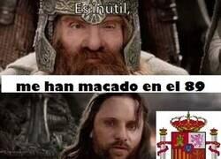 Enlace a Españita haciendo de las suyas