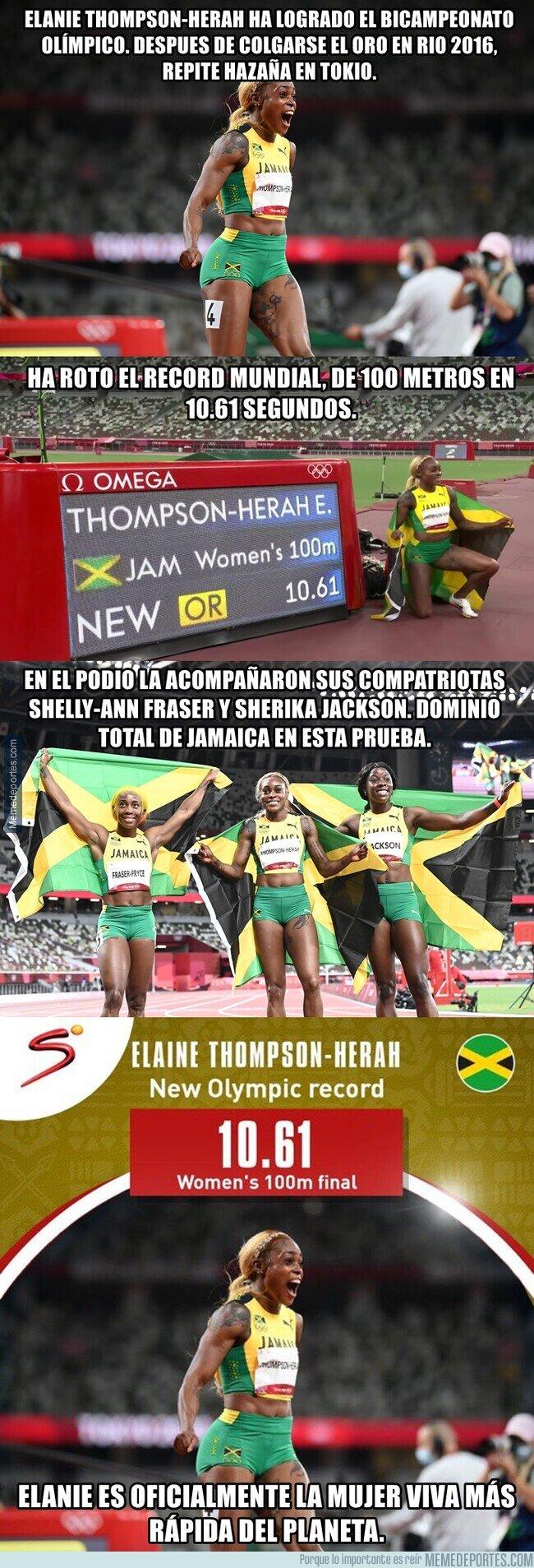 1141018 - Jamaica es sin dudas la cuna de los humanos más rápidos