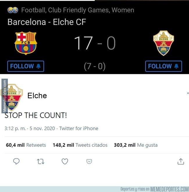 1141310 - El Barcelona femenino es un ABUSO