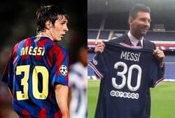 Enlace a Messi debutará con el PSG con el mismo dorsal que hizo con el Barça