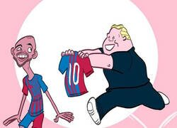 Enlace a El '10' del Barça debe ser él
