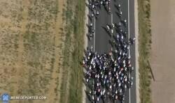 Enlace a Caída masiva en la etapa 5 de La Vuelta a España
