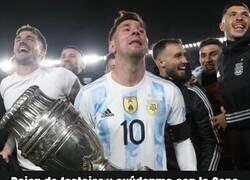 Enlace a El sufrimiento de Messi