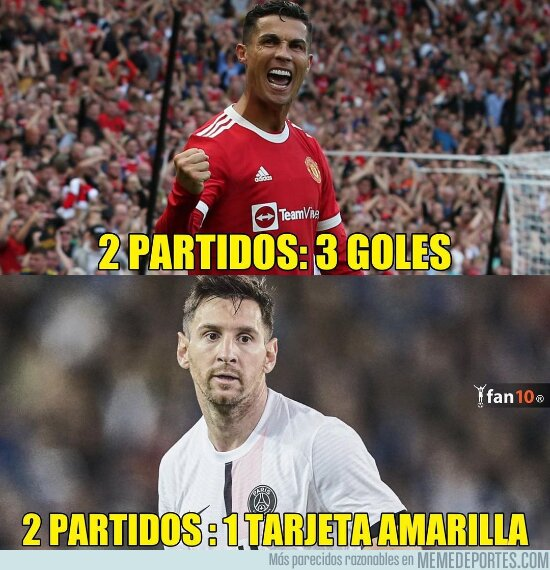 1144590 - Datos Messi vs Cristiano