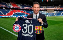 Enlace a Messi lo predijo