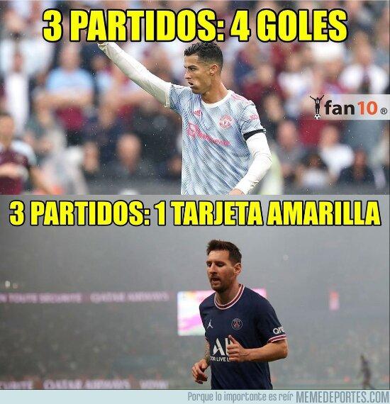 1144866 - Messi peor en el PSG de lo que era con Argentina antes