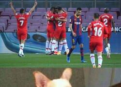 Enlace a El Granada acabó con las opciones ligueras del Barça el año pasado