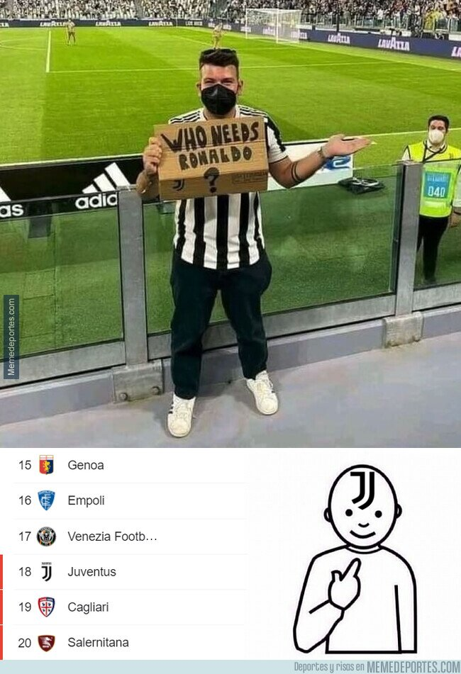 1144929 - La Juve echa de menos a alguien que marcaba 30 goles