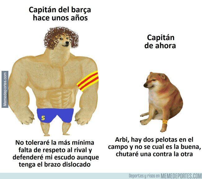 1145173 - Capitán del Barça antes vs ahora