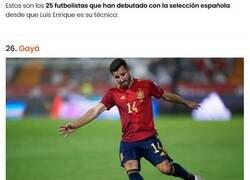 Enlace a Estos son todos los jugadores que Luis Enrique ha hecho debutar en la selección española y que tantas críticas le han hecho llegar