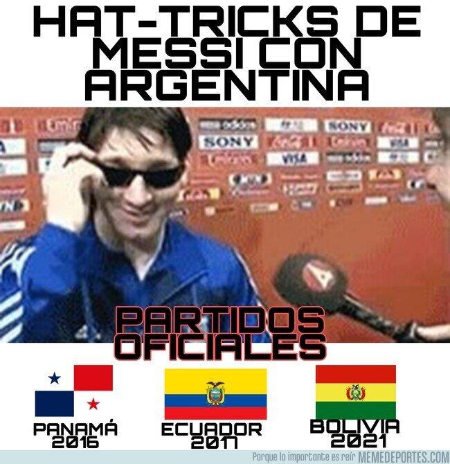 1146667 - Hablan de Cristiano pero Messi con Argentina....