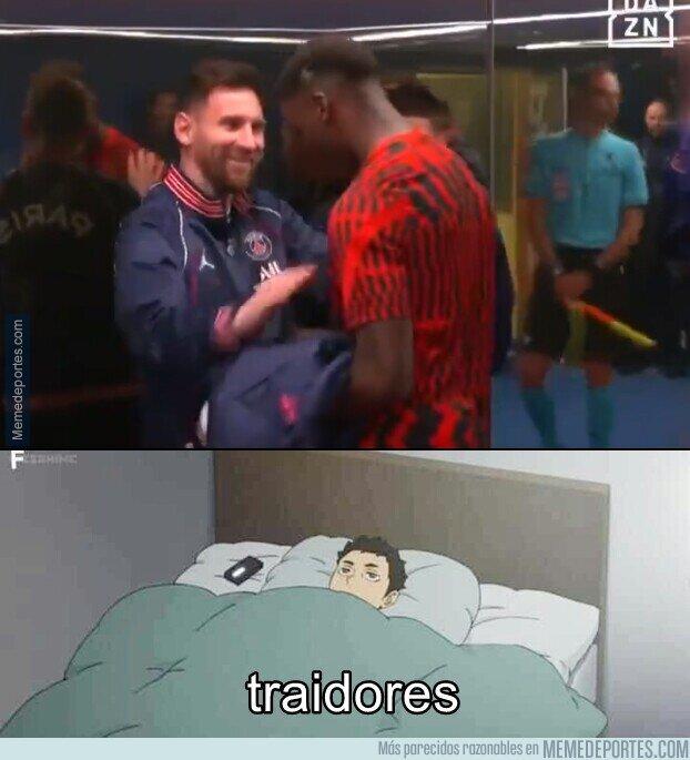 1146989 - Messi y Moriba se reencuentran en la Champions