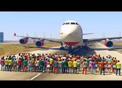 Enlace a ¿Cuántas personas son necesarias en el GTA para detener un avión?