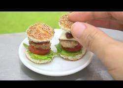 Enlace a Cocinando unas mini hamburguesas muy deliciosas