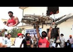 Enlace a Amandeep Singh, el especialista indio que es un récord man