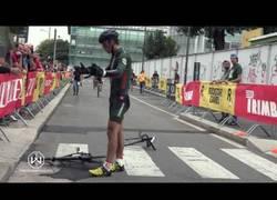 Enlace a Cuando no tienes el día en la carrera... y lo pagas con la bici