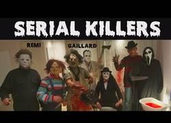 Enlace a Remi Gaillard pegando un susto de muerte en un hotel