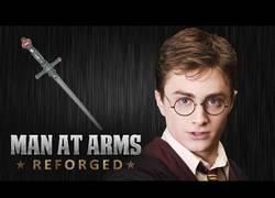 Enlace a Creando desde cero la espada de Gryffindor