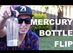 Enlace a Haciendo el famoso reto de la botella con Mercurio en el interior