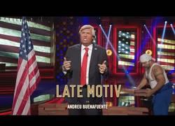 Enlace a La increíble imitación de Donald Trump en el programa de Buenafuente