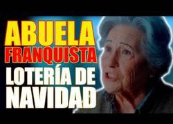 Enlace a La abuela franquista en el anuncio de Lotería de Navidad