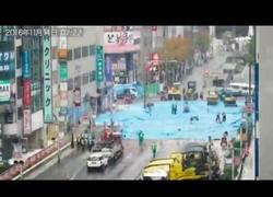 Enlace a ¿Recuerdas el enorme agujero bajo las calles de Japón? Arreglado en una semana