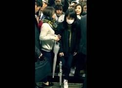 Enlace a Así van los trenes de Japón en hora punta