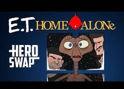 Enlace a Si ET fuese el protagonista de Solo en Casa