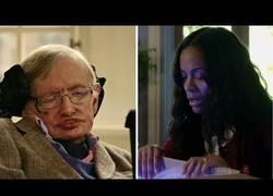 Enlace a ¿Zoe Saldaña? ¿Agujero de gusano? ¿Gato de Schrödinger? ¿Stephen Hawking? ¿Qué está pasando?
