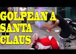 Enlace a Guerra de almohadas con Santa Claus
