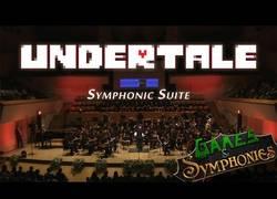 Enlace a Suite de Undertale con orquesta y suena de maravilla