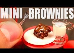Enlace a Haciendo los brownies más pequeños del mundo