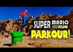 Enlace a Esto es lo que pasa cuando Super Mario Run y el parkour se conocen en la vida real