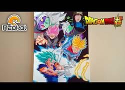 Enlace a Artista realiza increíble dibujo de la saga de Black Goku