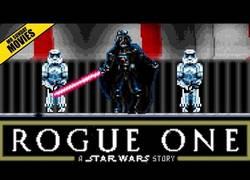 Enlace a Así es la escena final de Rogue One en 16bit