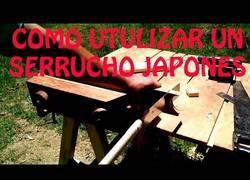 Enlace a Las diferencias de los serruchos que usamos aquí y los japoneses
