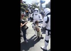 Enlace a Esta niña se portó mal... y los Stormtroopers la detuvieron sin pensarlo