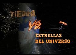Enlace a ¡La Tierra respecto diferentes estrellas del Universo!