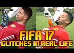 Enlace a Así sería el FIFA 17 en la vida real con todos los fallos del juego