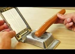 Enlace a Esto es lo que se puede cortar con un cortador de huevos