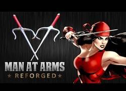 Enlace a Forjando los Sais de Elektra conocida por Daredevil
